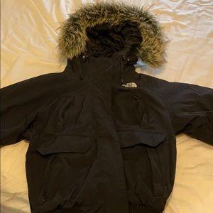 North Face Black Coat